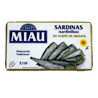 SARDINILLA MIAU EN ACEITE DE GIRASOL RR90