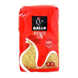 FIDEO FINO PASTAS GALLO nº 0, 500 gr.